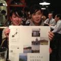 福江島三井楽出身、上遠野由美さん、東京都出身、山口夢香さん